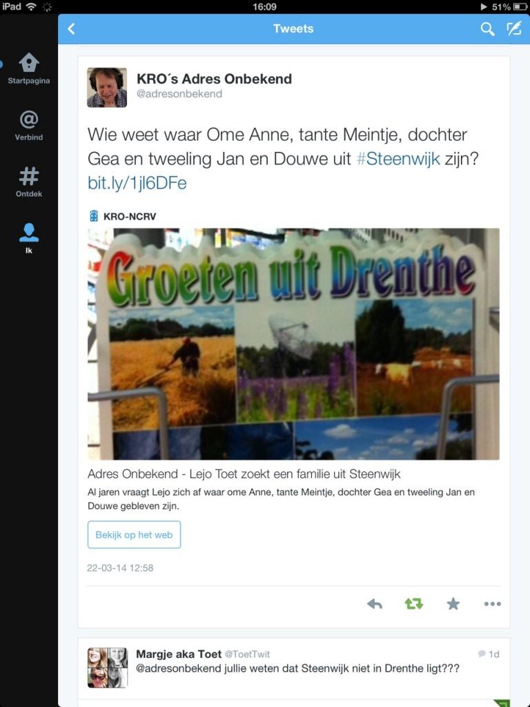 blogfoto adres onbekend Drenthe